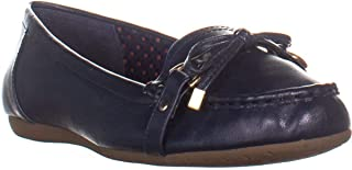 Charter Club CC35 Betseyy Flat Loafers, Navy