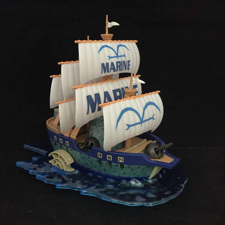 promociones Zhangmeiren Piratas Rey náutico náutico náutico Barco Naval Anime Modelo de Juguete Anime Dibujos Animados Juego Modelo de Personaje Estatua Recuerdo Colección Artesanía  mejor servicio