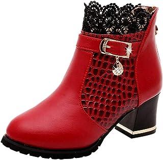 : chaussure vintage Rouge Bottes et bottines