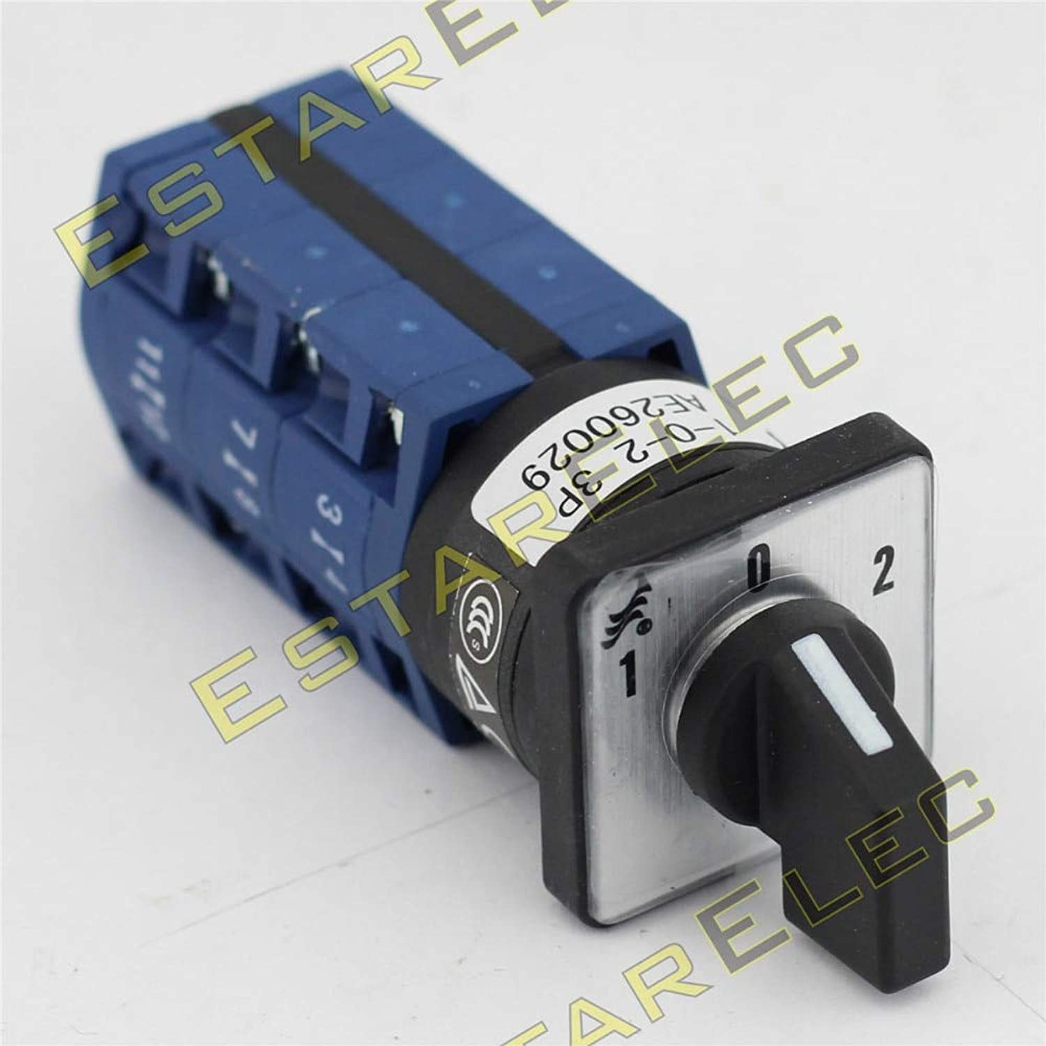 AC 440V Ui 690V 10A Cam Switch Mini Switch 3 Position 4 Poles 16 terminals for Elevator