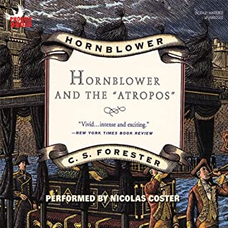 "Hornblower and the ""Atropos"" audiobook cover art"