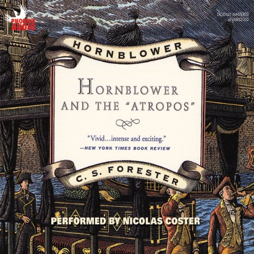 "Hornblower and the ""Atropos"" cover art"