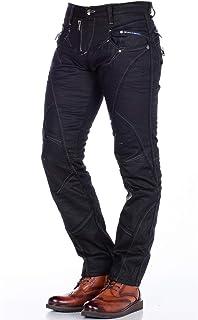 Cipo & Baxx Men's Jeans Regular Fit Denim Straight Fit