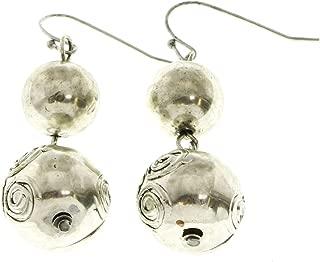 Dangle-Earrings Silver-Tone