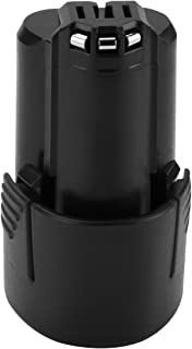 Shentec 10.8V and 12V 2.5Ah Replacement Battery Compatible with Bosch BAT411 GBA12V30 BAT412 BAT413 BAT414, Lithium-Ion Battery
