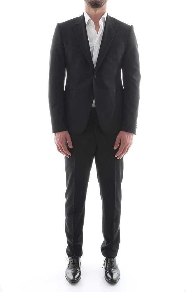 Emporio armani, vestito completo per uomo, in lana/elastene , taglia 50 eu W1VMUR