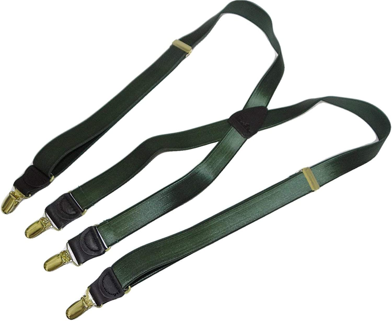 Holdup Suspender Company's Dark Verde Green 1
