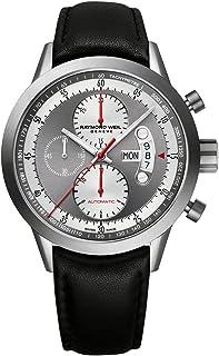 Raymond Weil Men's 7745-TIC-05659 Analog Display Swiss Automatic Black Watch