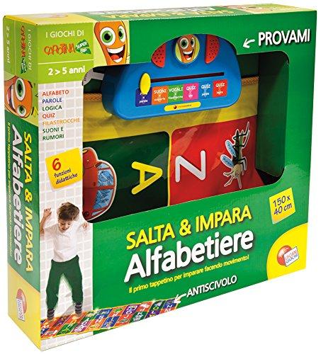 Liscianigiochi 32457 Carotina Salta e Impara ABC