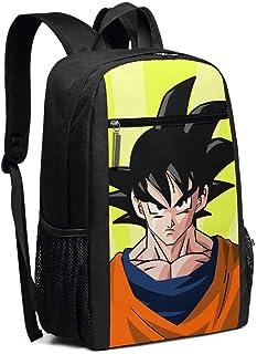 Mochila de viaje para ordenador portátil Dragonball Goku Colegio Bolsa de ordenador Casual Daypack para mujeres hombres