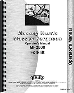 New Massey Ferguson 2500 Forklift Operators Manual