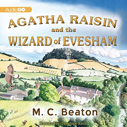Agatha Raisin and the Wizard of Evesham audiobook cover art
