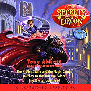 The Secrets of Droon, Book 1 audiobook cover art