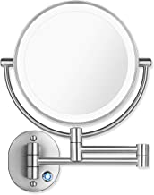 Best led lighted makeup mirror wall mount Reviews