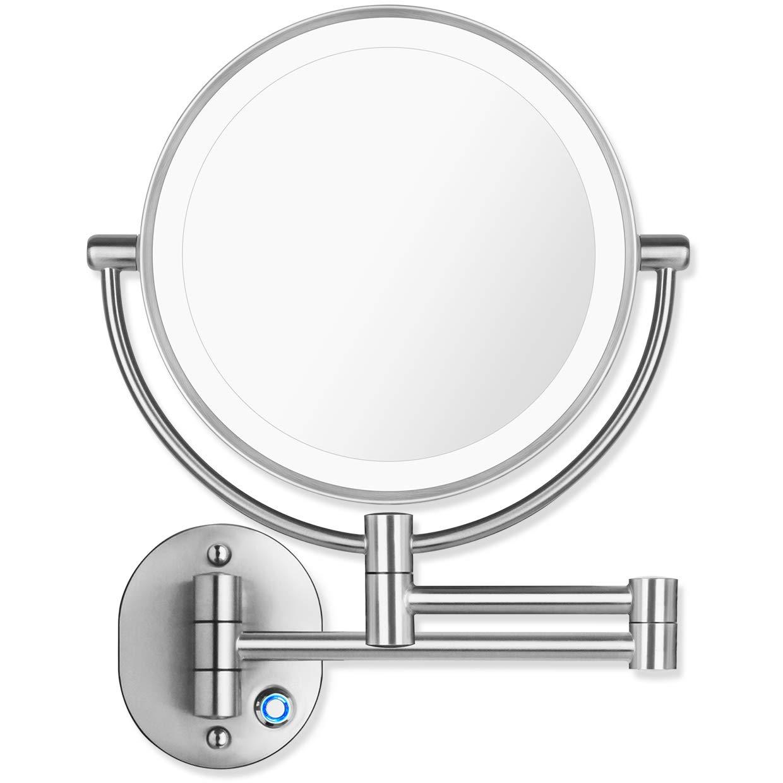 AmnoAmno mirror 10x Magnification Extension Adjustable