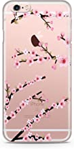 iCustoms iPhone 5/5s/5SE Clear Floral Cover, Floral Case Clear Transparent for iPhone R13