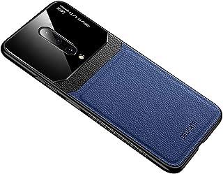 حافظة هاتف من الجلد الناعم لهواتف ون بلس 7 برو - لون أزرق