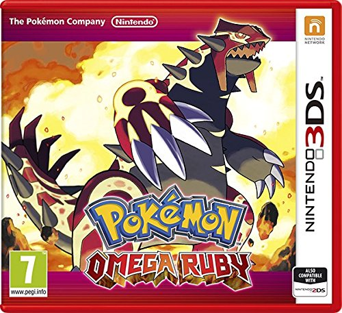 [UK-Import]Pokemon Omega Ruby 3DS Game