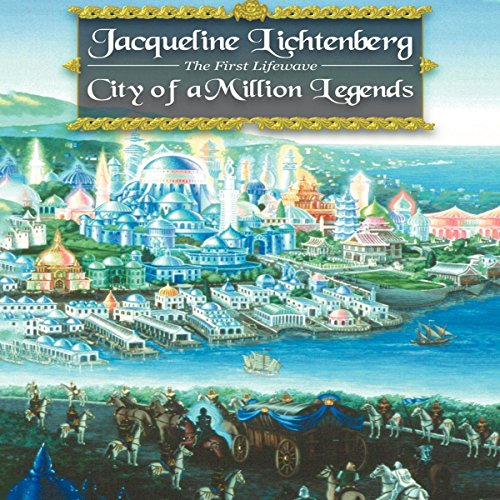 City of a Million Legends audiobook cover art