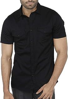 Half Sleeve Men's Casual Shirts: Buy Half Sleeve Men's Casual Shirts