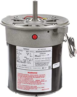 Oil Burner Motor, 1/4 HP, 3450, 115 V, 48N