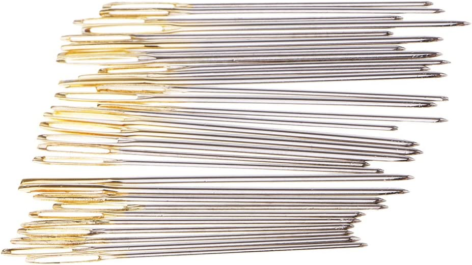 menolana 30Pc Thick Gold Eye Award-winning store Nee Sewing Embroidery Tapestry Hand Lowest price challenge
