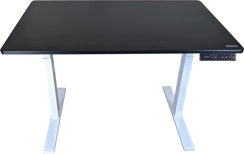 Rise Super beauty product Limited price sale restock quality top UP Dual Motor Electric Standing Desktop Pr Black Desk 48x30