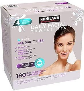 Best kirkland makeup remover wipes costco Reviews