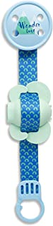 Suavinex Pacifier Holder With Wanderlust Soother Clip, Assorted, 1 unit