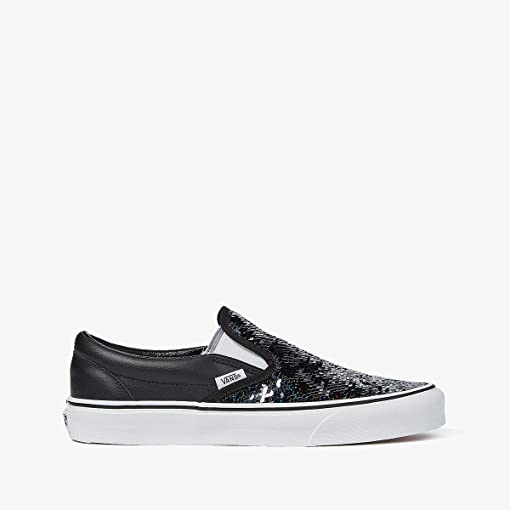 (Flipping Sequins) Checkerboard/Black