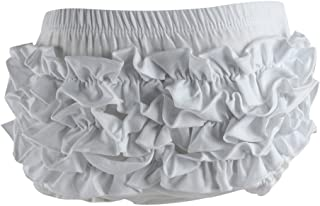 Wennikids Baby Girl's Cotton Shorts and Diaper Cover Bloomers