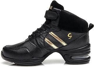 YKXLM Donna& Uomo Scarpe Da Ginnastica Sportive Outdoor Moderno Scarpe Da Ballo Danza Sneakers,ITA-B51