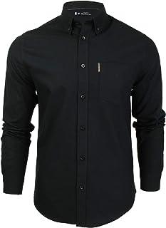 Ben Sherman - Camiseta de manga larga para hombre