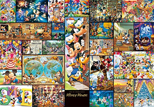 2000 piece jigsaw puzzle art collection Mickey Mouse DG-2000-533 [size tightly] (japan import)