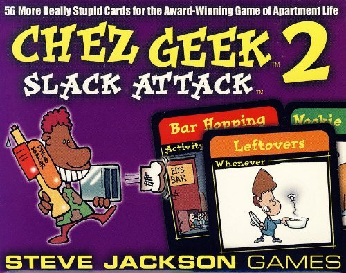 Chez Geek 2 Slack Attack by Steve Jackson Games (February 01,2003)