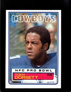 Football NFL 1983 Topps #46 Tony Dorsett #46 DP EX Cowboys