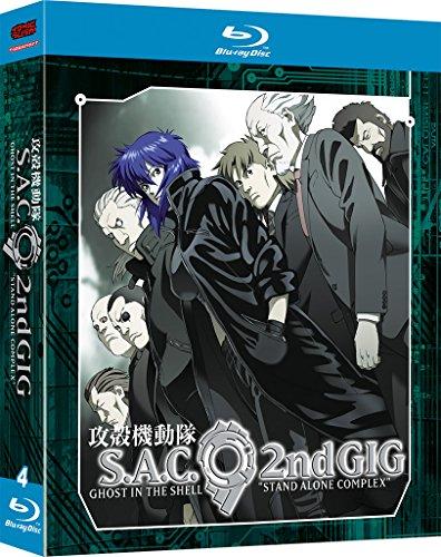 Ghost in the Shell - Stand Alone Complex 2nd GIG - 2. Staffel - Gesamtausgabe - [Blu-ray]