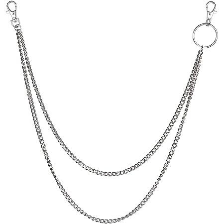 Amazon Com Xy Fancy Llavero Con Cadena Para Pantalon De Mujer Aleacion 1 Capa Jewelry