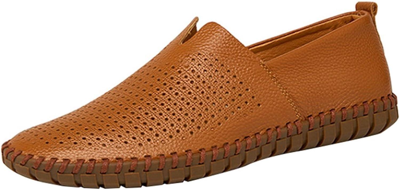 Men's Casual Comfortable Breathable Lazy shoes Sailing shoes Sandals Driving shoes Four Seasons Lofo shoes Leisure