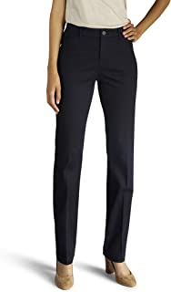 LEE Women's Tall Size Flex Motion Regular Fit Straight Leg Pant