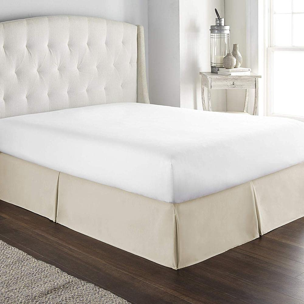 Bed Skirt Classic Latest Selling and selling item Europe Tailored 35cm Style Pleated