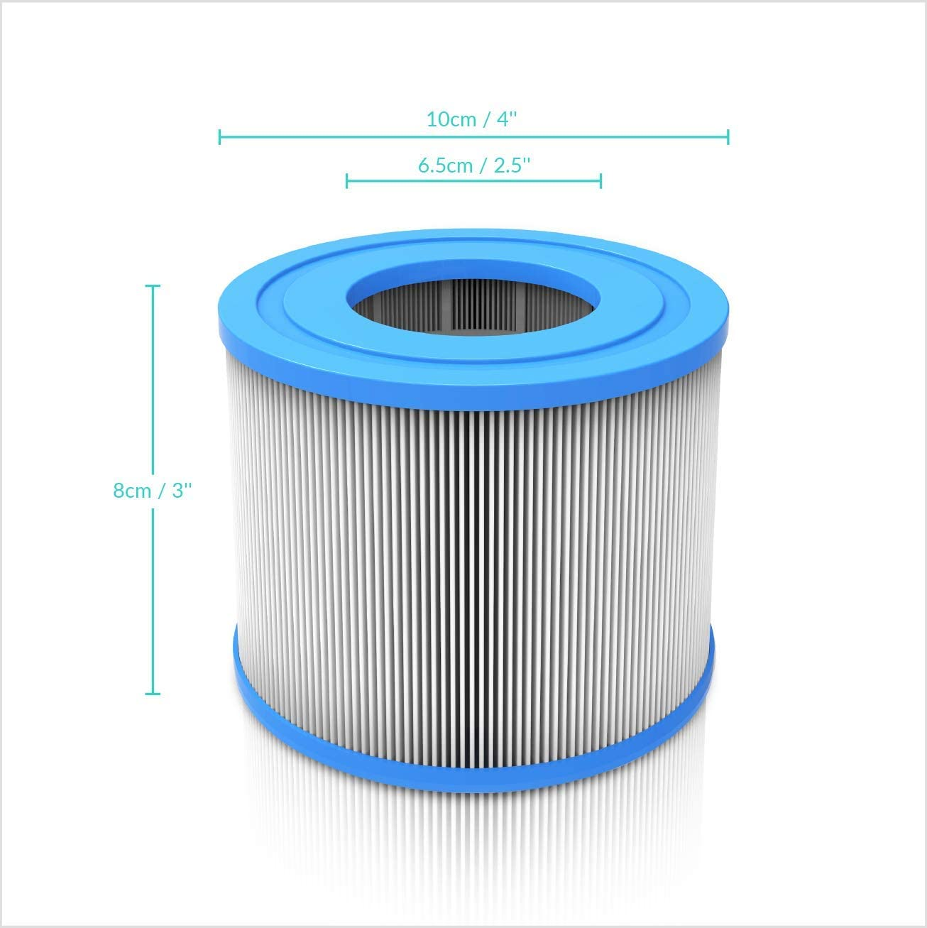 Replacement Spa Filters for Hots Tubs Purchased in 2020 /& Later WAVE Hot Tub Filter Cartridges Pack of 4