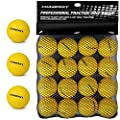 Champkey Foam Golf Balls(16 Pack or 32 Pack) (Yellow, 16 Pack)