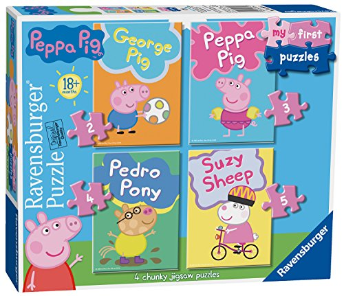 Ravensburger- Peppa Pig My First Puzzle Rompecabezas (6960)