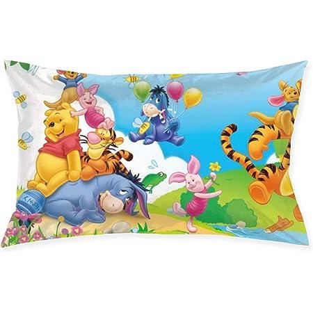 Travel Pillowcase  Child/'s Pillowcase  Winnie the Pooh Tigger Eeyore Piglet Accent Pillow Case