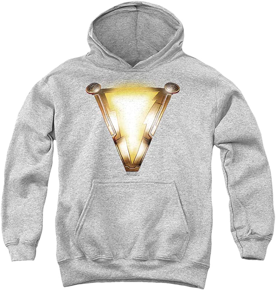 At the price of surprise 35% OFF Shazam Movie Bolt Unisex Youth Hoodie Pull-Over