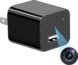 Spy Hidden Camera Full HD 1080P Mini Hidden Nanny Cam USB Wall Charger Surveillance Camera