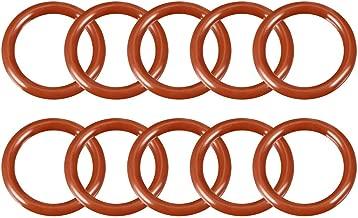 sahnah 200Pcs Solid Copper Washer Flat Ring Sump Plug Oil Seal Assorted Set Box