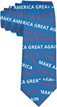 Men America Great Again Multiple Color Neck Ties Novelty Tie Gift