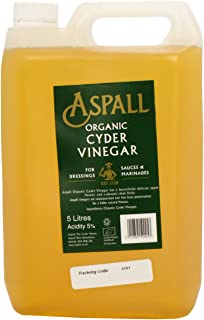 Aspall organic cyder vinegar 5 litre